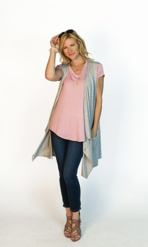 Fashion Loose Long Vest
